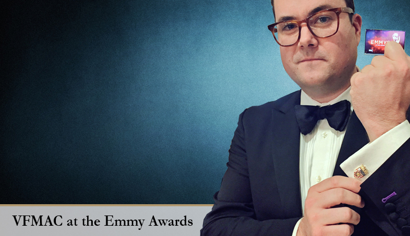 Kristian Bruun '97 of Orphan Black at the 2016 Emmy Awards