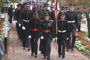 Returning College Cadets Return to Campus