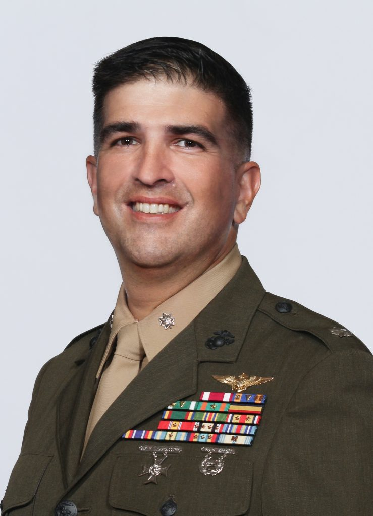 Colonel J.J. Rivera, USMCR