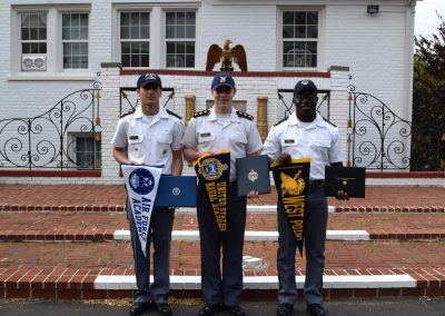 Three VFMA Cadets Accepted to Federal Service Academies