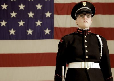 VFMC Cadet Audrey Franssen featured in 'The American Army Dream'