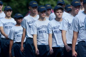 New Academy & Middle School Cadet Move-In Day
