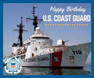 Happy Birthday US Coast Guard!