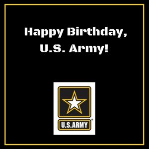Happy Birthday US Army!