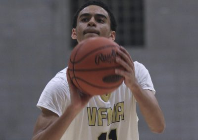 Cadet Lewis and VFMA Basketball Featured in Inquirer Article