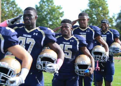 Several VFMC Football Players Receive All-Conference Honors
