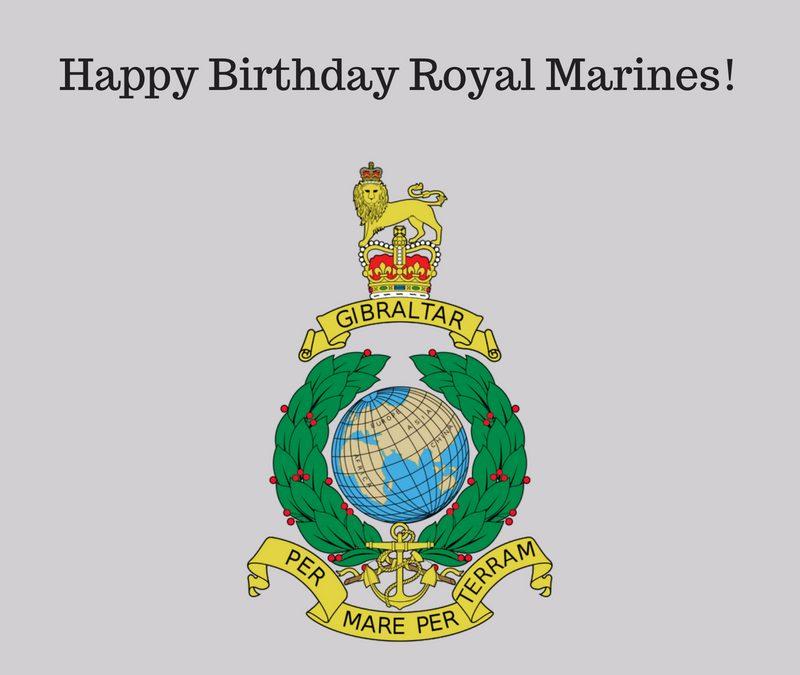 Happy Birthday Royal Marines!