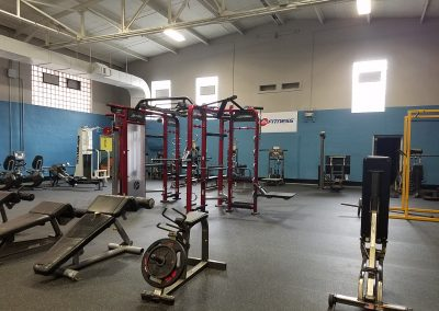 Donation from 24 Hour Fitness Creates New Weight Room
