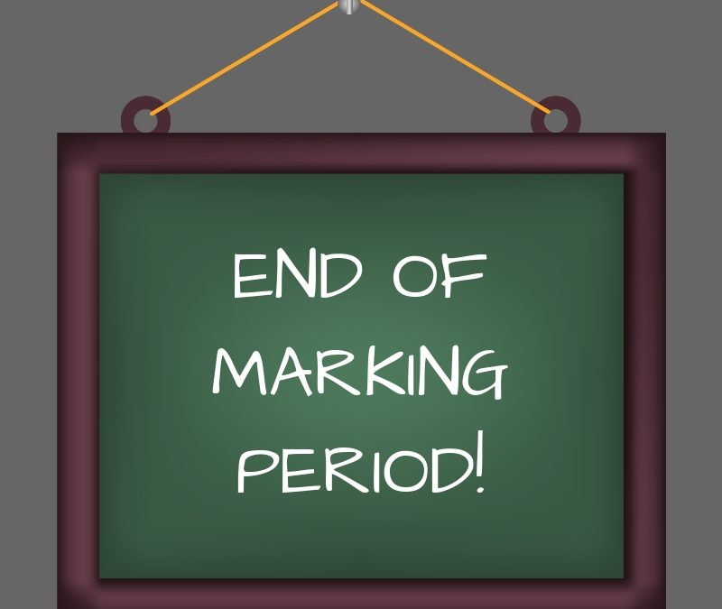3rd Marking Period Ends