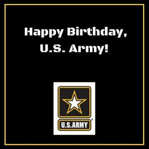 Happy Birthday US Army!
