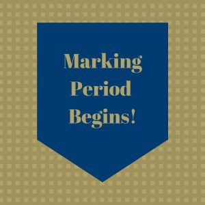 2nd Marking Period Begins