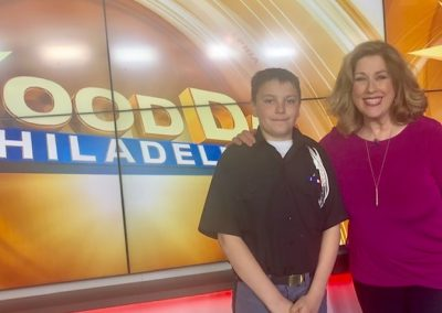 VFMA Cadet Erik Laskey Makes His TV Debut