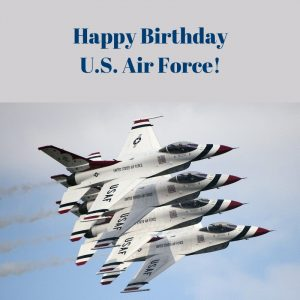Happy Birthday US Air Force!