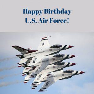 Happy Birthday US Air Force!