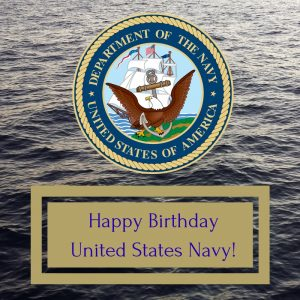 Happy Birthday US Navy!