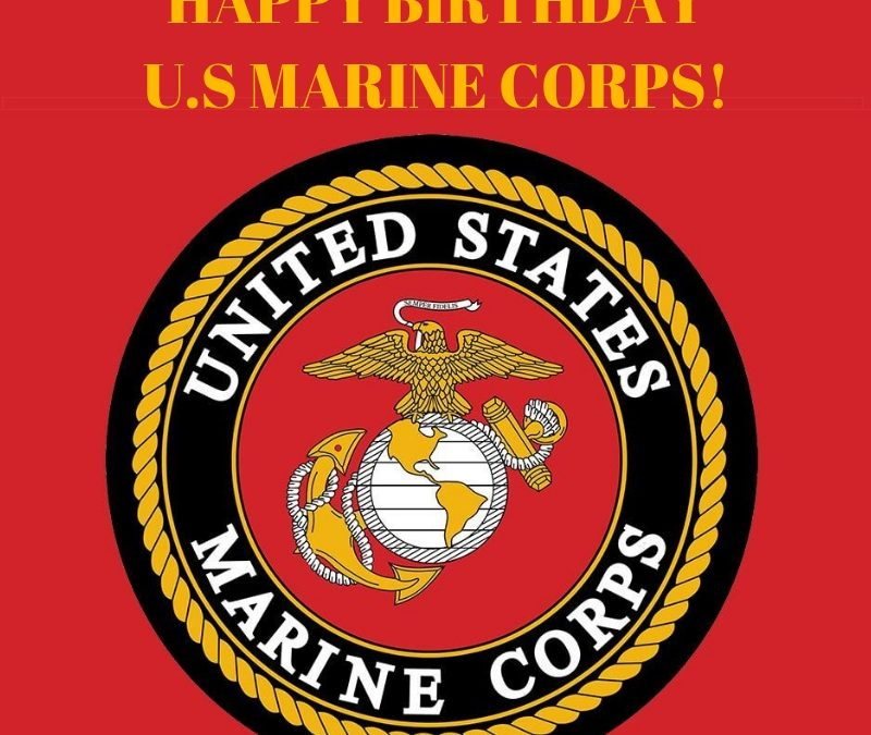 Happy Birthday Us Marine Corps Valley Forge Military Academy And College