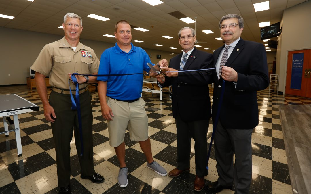 VFMAC Holds Official Ribbon Cutting and Dedication of the Newly Renovated Boodle Shop!