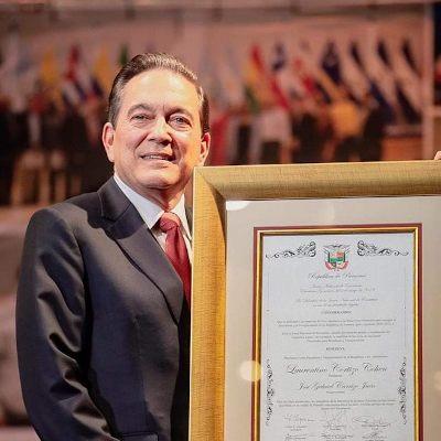 Laurentino Cortizo '72C, President of Panama