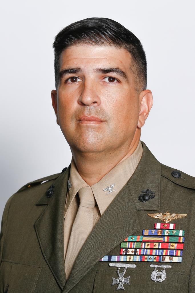 Colonel J.J. Rivera, USMCR