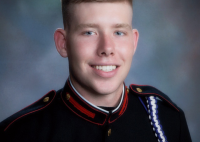 Kyle Huff '18C Receives Scholarship from Syracuse University Office of Veteran and Military Affairs