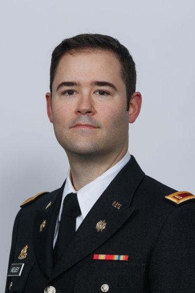 James F. Kelley – Second Lieutenant (2LT), Vermont National Guard